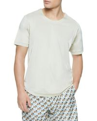 La Perla - Solid Knit T-shirt - Lyst
