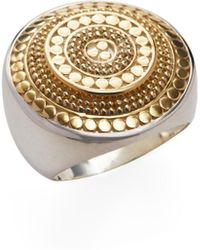 Anna Beck Jewelry - Raised Circle Disc Statement Ring - Lyst