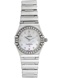Omega Omega 1990 Women's Constellation Diamond Watch - Metallic