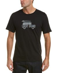 Lucky Brand - Graphic T-shirt - Lyst