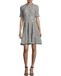 Rebecca Taylor - Boucle Mini Dress - Lyst