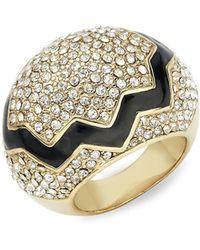 CC SKYE - 18k Yellow Gold Cracked Egg Ring - Lyst