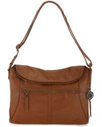 The Sak - Leather Flap Shoulder Bag - Lyst