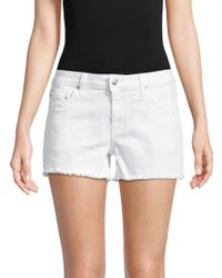Derek Lam | Quinn Slim Cotton Shorts | Lyst