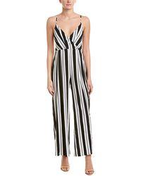 d63f81c69d8e Avec Les Filles - Sleeveless Striped Jumpsuit - Lyst