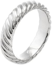 David Yurman - David Yurman Unity Platinum Ring - Lyst