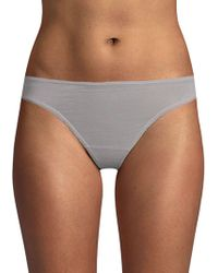 Skin Organic - Mid-rise Cotton Thong - Lyst