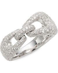 Kwiat - Madison Avenue Diamond & 18k White Gold Ring - Lyst