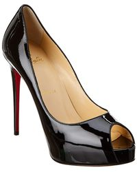 Christian Louboutin - New Very Prive 120 Patent Pump - Lyst