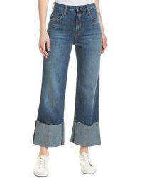 J Brand Joan Astonish High-rise Crop - Blue