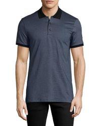 Antony Morato - Geometric Cotton Polo Shirt - Lyst