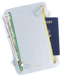 Royce - Rfid Blocking Four Zip Travel Case - Lyst