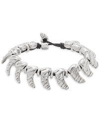 Uno De 50 - Silver Toggle Bracelet - Lyst