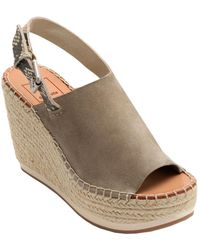 Dolce Vita - Shan Leather Wedge Sandal - Lyst