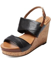 Corso Como - Deploy Leather Wedge - Lyst