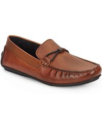 Bacco Bucci - Leather Drivers - Lyst