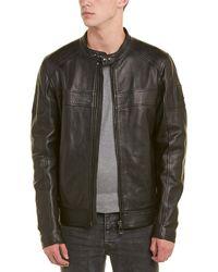 Belstaff - A.racer Leather Jacket - Lyst
