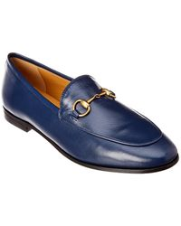 Gucci - Jordaan Leather Loafer - Lyst