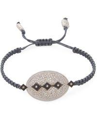 Armenta | Sterling Silver Oval Diamond Pull Bracelet | Lyst