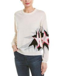 Zadig & Voltaire - Kansas Star Flame Wool Sweatshirt - Lyst