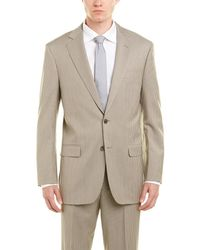 Brooks Brothers - Madison Fit Wool Suit With Flat Front Pant - Lyst