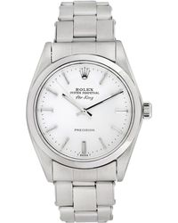 Rolex - Vintage Rolex Stainless Steel Airking Watch, 34mm - Lyst