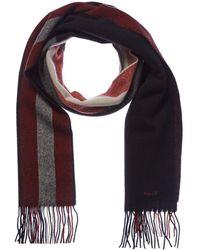 Bally - Stripe Print Wool-blend Scarf - Lyst