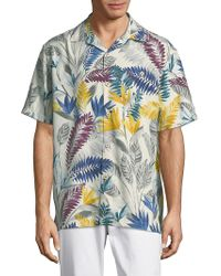 Tommy Bahama - Coconut-print Button-down Shirt - Lyst