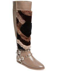 470395e1f464 Ivy Kirzhner - Husky Leather   Shearling Boot - Lyst