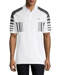 Fred Perry Colorblocked Polo Shirt