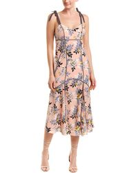 Cinq À Sept - 3/4 Length Dress - Lyst