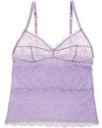 Blush Lingerie - Lingerie Soft Seduction Lace Camisole - Lyst