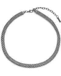 Saks Fifth Avenue - Rope Crystal Collar Necklace - Lyst