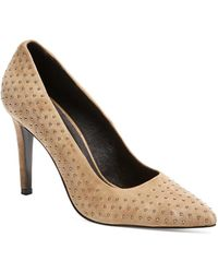 The Kooples - Studded Point Toe Pumps - Lyst