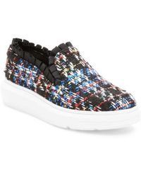 F-Troupe - Ruffled Slip-on Trainer - Lyst