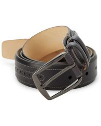 Mezlan - Sicalf Leather Belt - Lyst