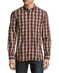 Victorinox - Cotton-blend Plaid Shirt - Lyst