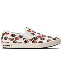 Seavees - Baja Slip-on Trina Turk (green Secret Garden) Women's Slip On Shoes - Lyst