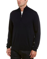 Brooks Brothers - 1/4-zip Wool Pullover - Lyst