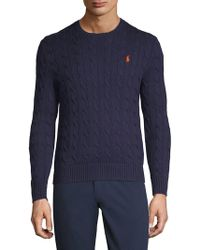 Ralph Lauren Blue Label - Hunter Cotton Sweater - Lyst