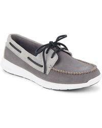 Sperry Top-Sider - Sojourn Two-eye Suede Boat Shoes - Lyst