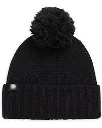 UGG - Pom-pom Knit Hat - Lyst