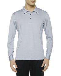 La Perla - Long-sleeved Polo Shirt - Lyst
