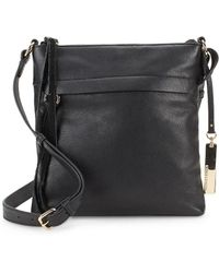 Vince Camuto - Felax Leather Crossbody Bag - Lyst