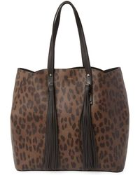 Furla - Aurora Leather Tote Bag - Lyst