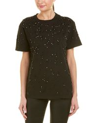 Pinko Embellished T-shirt - Black