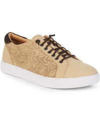 Robert Graham - Lima Leather Low-top Trainers - Lyst