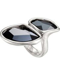Uno De 50 - Swarovski Elements Sterling Silver Cocktail Ring - Lyst
