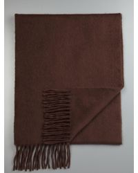 Façonnable - Lambswool Angora Scarf - Lyst