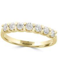 Effy - D Oro Diamond And 14k Yellow Gold Ring - Lyst